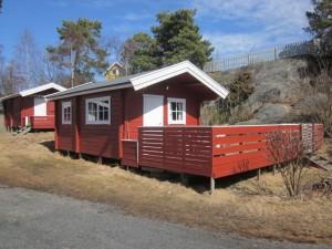 Hytte med sengeplass til 4 / Cabin with 4 beds / Hütte mit 4 Schlafplätze